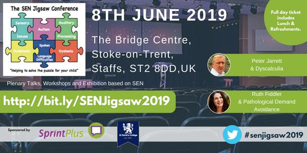 SEN Jigsaw Conference 2018