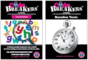 CodeBreakers Instructors manual and baseline tests books